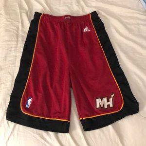 Miami Heat basketball shorts